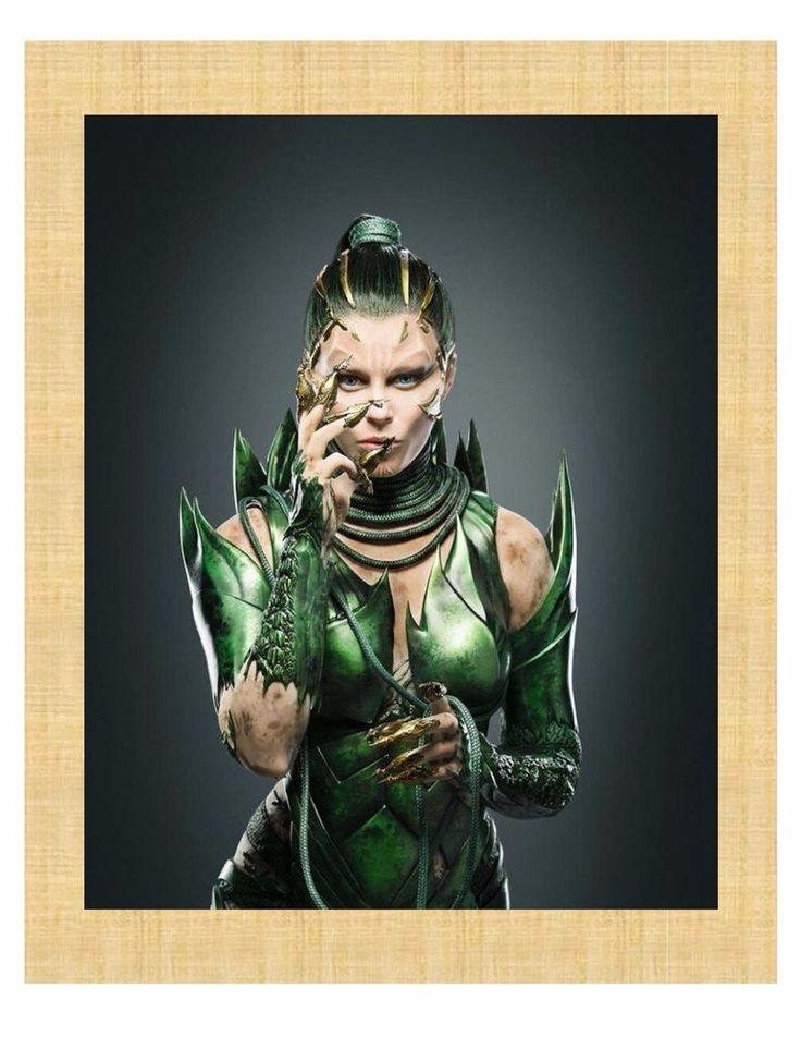 "Power Rangers Elisabeth Banks Dacre Montgomery, Naomi Scott, RJ Cyler 8""X10"""
