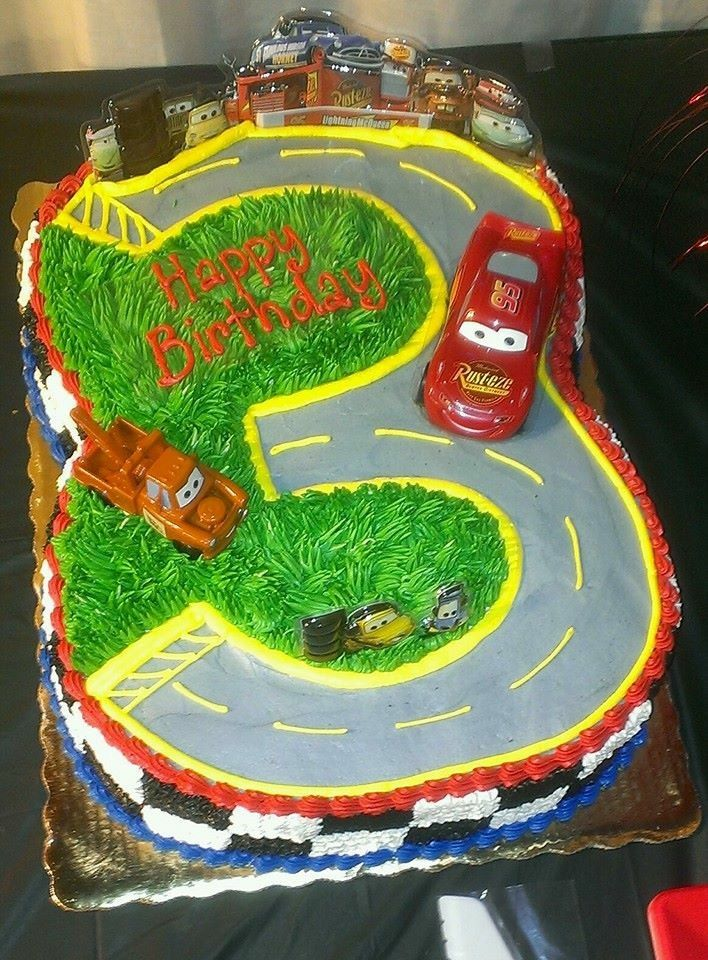 Cool Publix Cake With Images Cars Birthday Cake Publix Cakes Cars Personalised Birthday Cards Bromeletsinfo