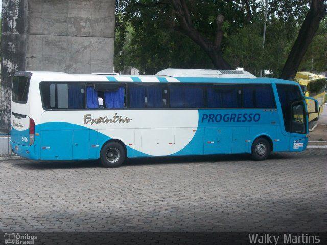 Ônibus da empresa Auto Viação Progresso, carro 6146, carroceria Busscar Vissta Buss HI, chassi Scania K310. Foto na cidade de João Pessoa-PB por Walky Martins , publicada em 14/02/2013 15:30:50.