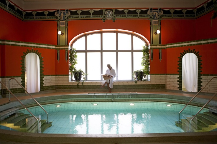 Spa - The Roman Bath at Hagabadet in Gothenburg, Sweden. Wonderful place to spend time!