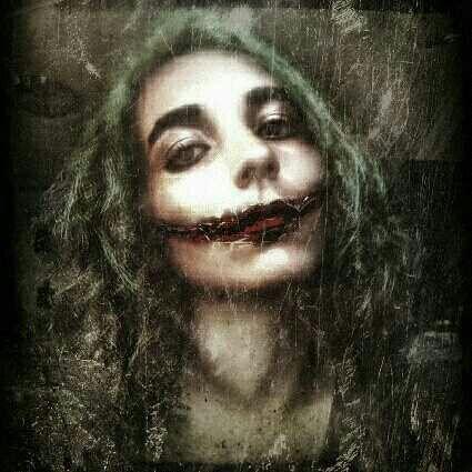 #joker #costume #cosplay #makeupbyme #photography #lipstick #brows #maquillaje #eyebrows #filter #makeup #bored #random #retro #vintage #jawline #smile