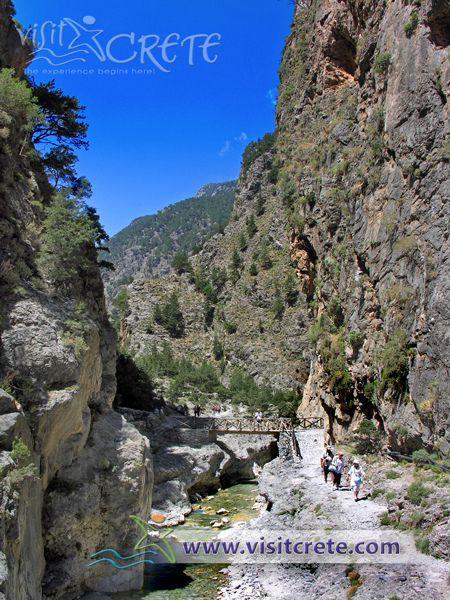 Crete, Chania, Samaria Gorge