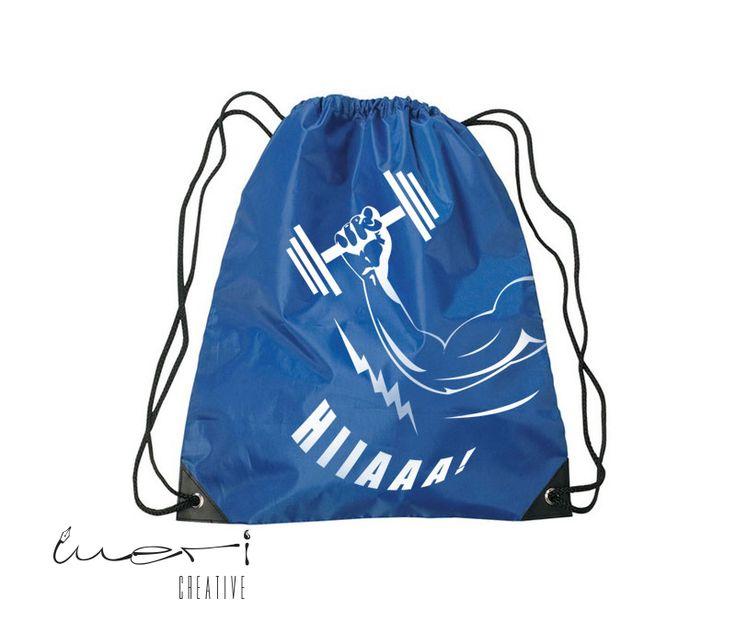 PT2K (Personal Trainer Kaan Kılıçarslan) için yaptığımız Spor Çanta Tasarımı