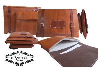 CUSTOM DESIGN LAPTOP LEATHER BAG