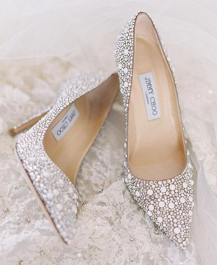 5b88c5585ae8 Jimmy Choo bridal shoes - omfg!