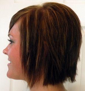 Shaggy Bob, Medium Brown with Warm Copper StreaksMedium Shaggy Haircuts, Bobs Hairstyles, Long Shaggy, Copper Streaks Hairstyles, Warm Copper, Medium Brown, Wigs, Shaggy Bobs
