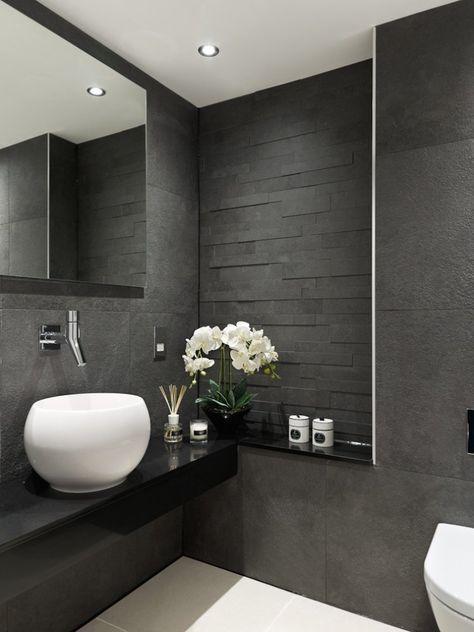 Les 25 meilleures idées de la catégorie Salle de bain en ardoise ...