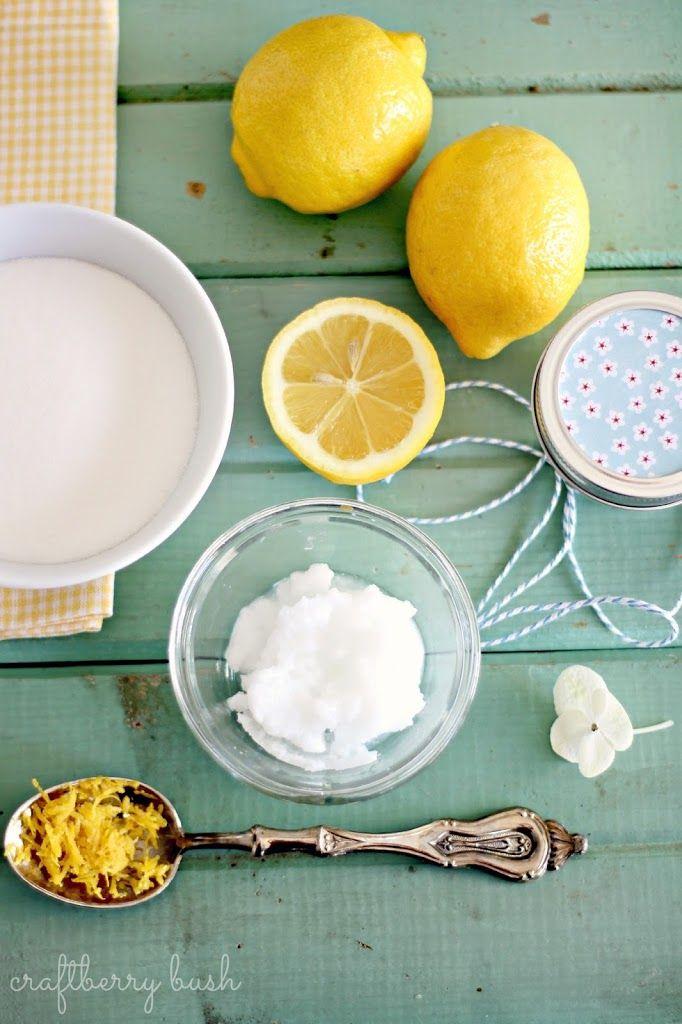 Super fácil de limão açúcar matagal receita - Craftberry de Bush