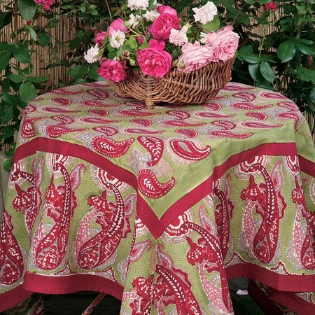 I pinned this Paisley Tablecloth from the Flower Power event at Joss and Main!