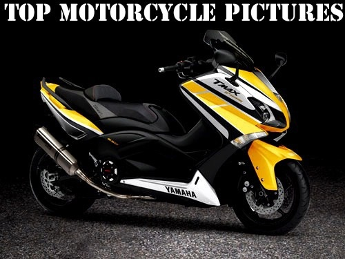 Yamaha Tmax in yellow