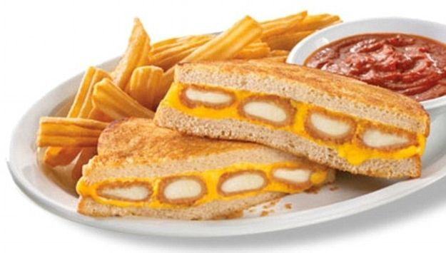 Fried Cheese Melt from Denny's | 22 American Fast Foods That Aren't About To Apologize For Anything