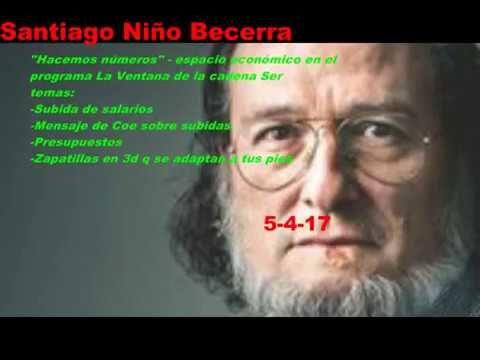 Santiago Niño Becerra- salarios , Presupuestos, Zapatillas en 3d  _5-3-17