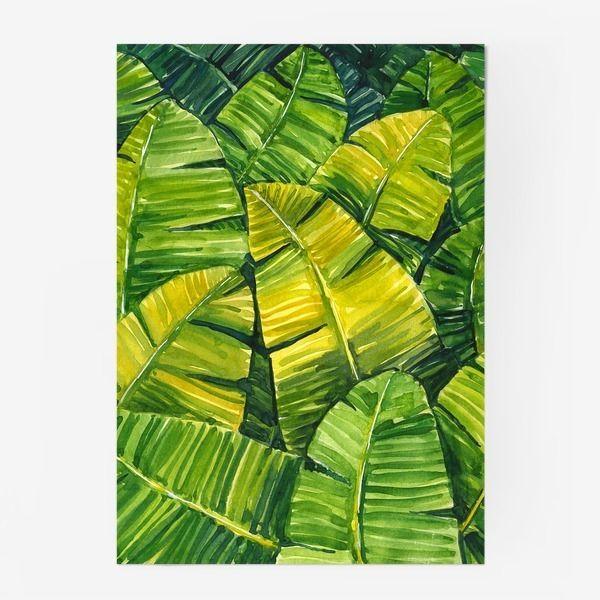 Постер «Банановые листья»