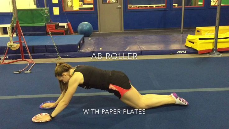 Gymnastics Kip Drills - without a bar!