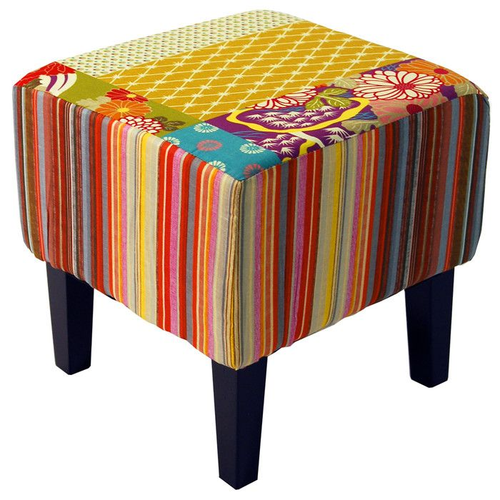 You'll love the Patchwork Square Stool at Wayfair.co.uk - Great Deals on all Furniture  products with Free Shipping on most stuff, even the big stuff.