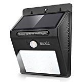 #USAshopping #10: BAXIA TECHNOLOGY Waterproof Wireless Solar Motion Sensor Night Lights