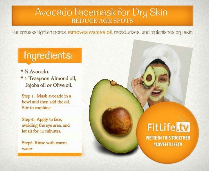 avocado face mask reduce age spots applied knowledge is power p. Black Bedroom Furniture Sets. Home Design Ideas