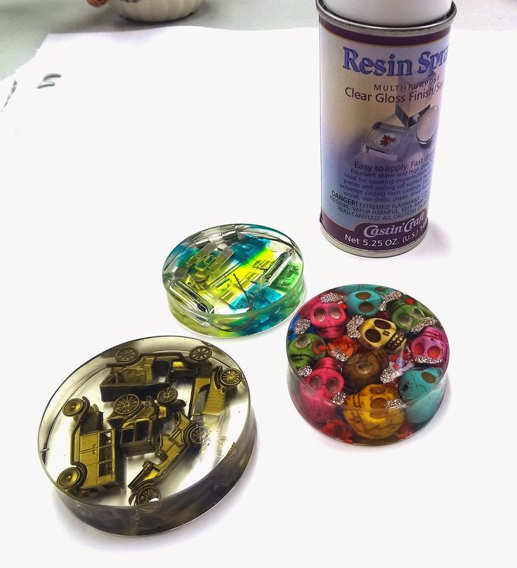 How to get a glossy finish on your resin paperweights