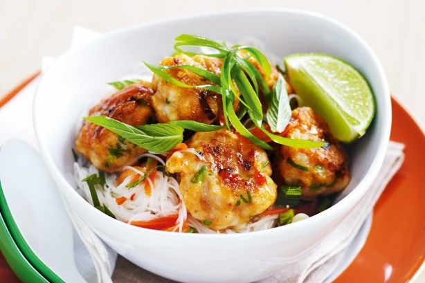 Thai fish balls is a family favourite and becomes a midweek marvel using only seven ingredients.