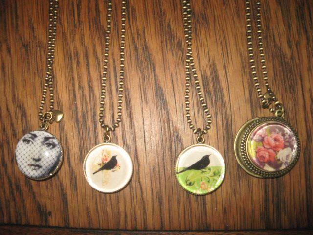 Double sided pendants