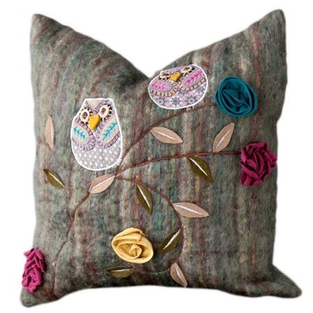 Shiraleah Owls Pillow