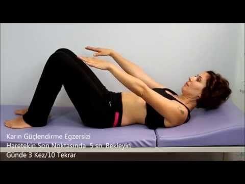 Bel Egzersizleri-Kuantum Fizik Tedavi Merkezi - YouTube