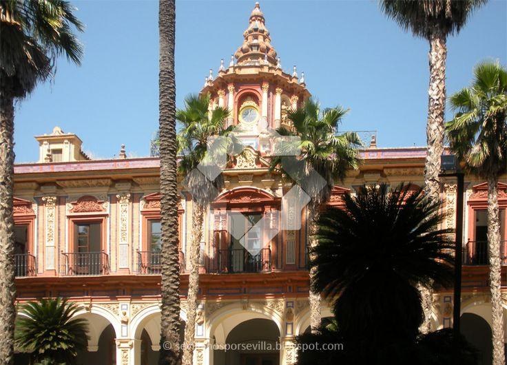 Sevillanos por Sevilla: Palacio de San Telmo. Sevilla, Spain.