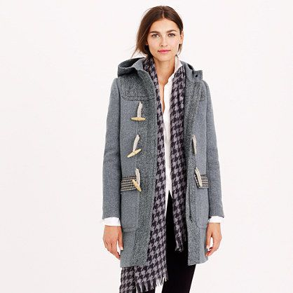Our new toggle coat makes us very happy that it's finally autumn