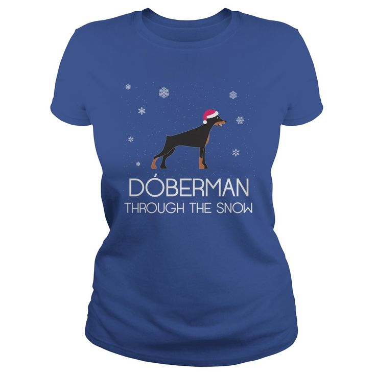 DOBERMAN THROUGH THE SNOW T-SHIRT #gift #ideas #Popular #Everything #Videos #Shop #Animals #pets #Architecture #Art #Cars #motorcycles #Celebrities #DIY #crafts #Design #Education #Entertainment #Food #drink #Gardening #Geek #Hair #beauty #Health #fitness #History #Holidays #events #Home decor #Humor #Illustrations #posters #Kids #parenting #Men #Outdoors #Photography #Products #Quotes #Science #nature #Sports #Tattoos #Technology #Travel #Weddings #Women