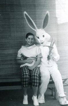 evil easter bunny black and white | ... Scary Easter Bunny on Pinterest | Easter bunny pictures, Easter bunny