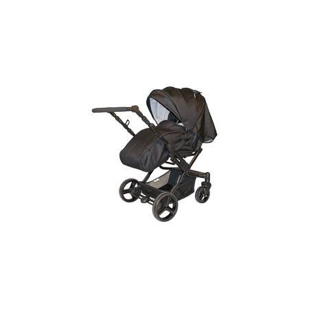 Baby Hit Коляска-трансформер Oasis, Baby Hit, серый  — 11070р. - Особенностью коляски является наличие у нее реверсивного прогулочного блока с устанавливаемой внутри на ремнях каркасной люлькой-переноской и перекидной ручки. Установка прогулочного блока против движения поможет малышу сохранять визуальный контакт с мамой, пока он совсем маленький, установка по ходу движения будет актуальна, когда ребенок подрастет и станет проявлять интерес к окружающему миру. Перекидная ручка поможет быстро…