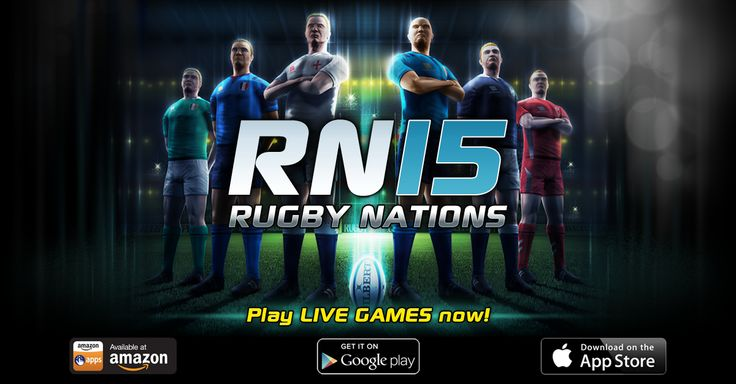 Heads Up! Rugby Nations 15 is now available on the AMAZON APPSTORE! Check it out here http://bit.ly/RN15Amazon