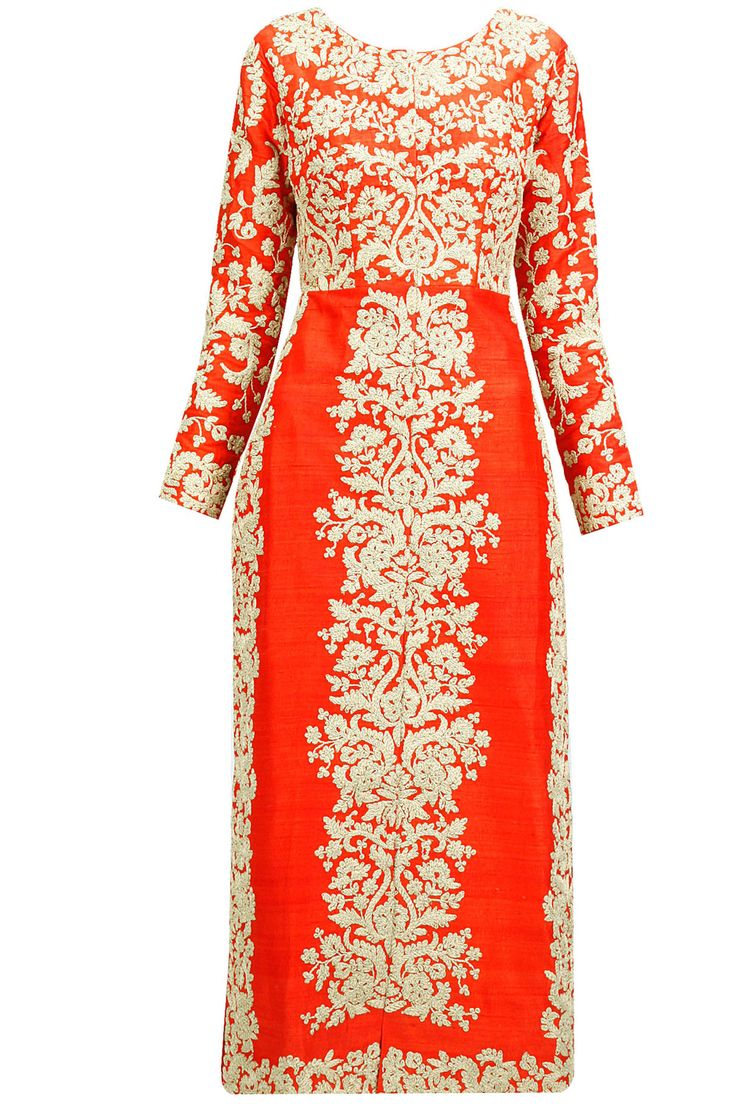 Vermillion dori embroidered front open jacket BY ANEESH AGARWAAL. Shop now at: http://www.perniaspopupshop.com/ #vermillion #embroidered #dori #openjacket #classy #beautiful #gorgeous #glamorous #chic #style #fashion #trendy #artistic #aesthetic #exquisite #happyshopping
