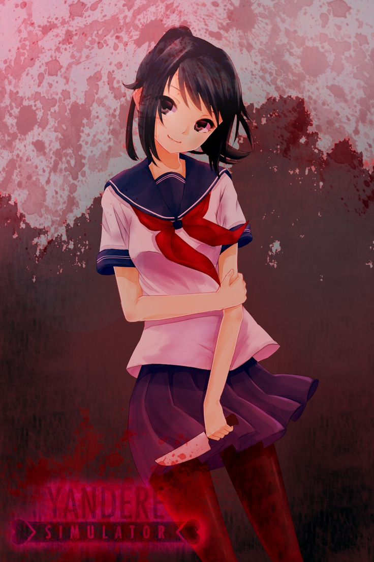 Game development blog yandere classmates anime pinterest nice - This Is A Fan Art Yandere Chan From Yandere Simulator By Yandere Dev I Love This Game So Much And I M Still Waiting For New Updates