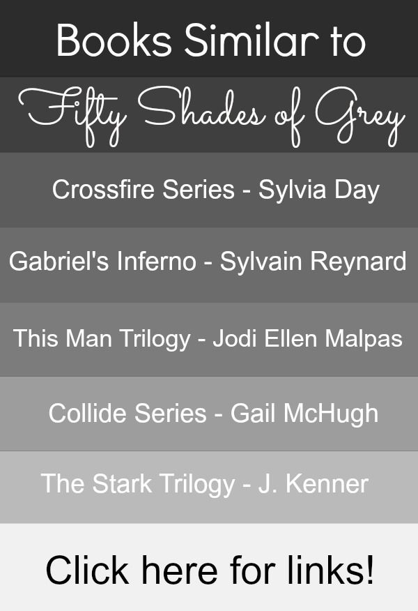 Books Similar to Fifty Shades of Grey. Great list! Going to call Library and get me some of these books to read ! lol