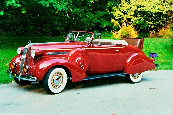1936 Pontiac Deluxe 8 Roadster Rumble Seats