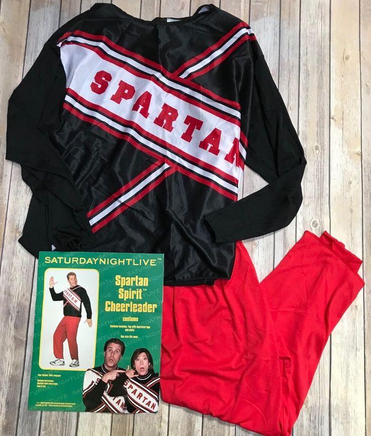 Halloween Costume Men's Will Ferrell SNL Spartan Cheerleader Costume One Size  | eBay