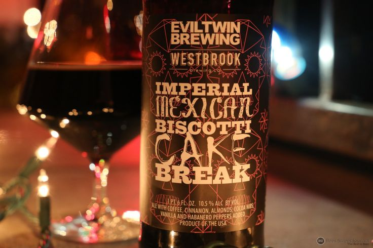 Ultimately pretty epic. Evil Twin Imperial Mexican Biscotti Cake Break