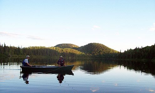 Pourvoirie Charlevoix | Chasse et Pêche : Pourvoirie du Lac Croche