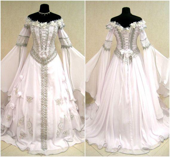 Favori Les 25 meilleures idées de la catégorie Robes de mariage celtique  XP45