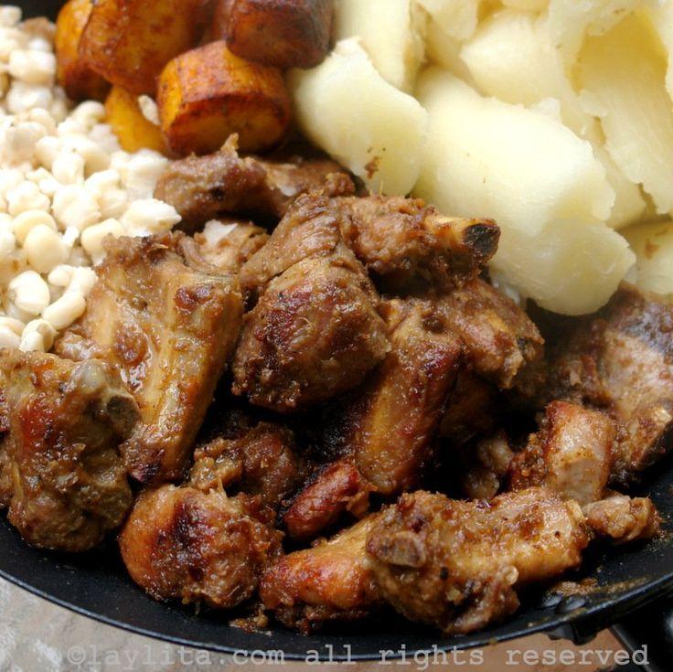 Ecuadorian pork fritada