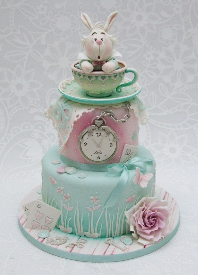 Alice and wonderland cake by Emma Jayne Cake Design