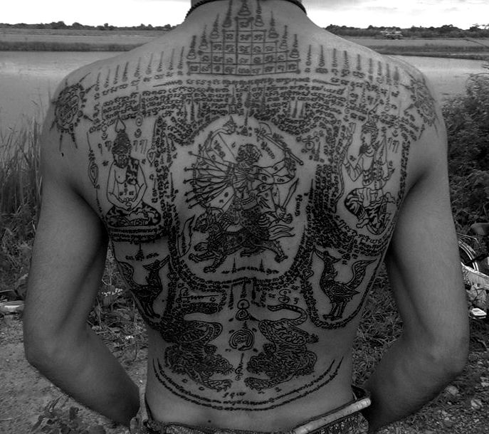 121 best thai tattoos sak yant images on pinterest for Thailand tattoo meaning