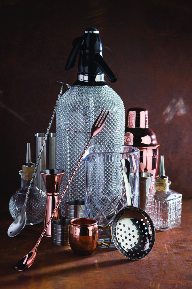 See Smart Hospitality Supplies cocktail collection including this rustic style Utopia kit.