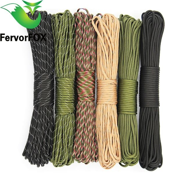 Paracord 550 Rope Type Iii 7 Stand 31m 100ft 10m 33ft Paracord