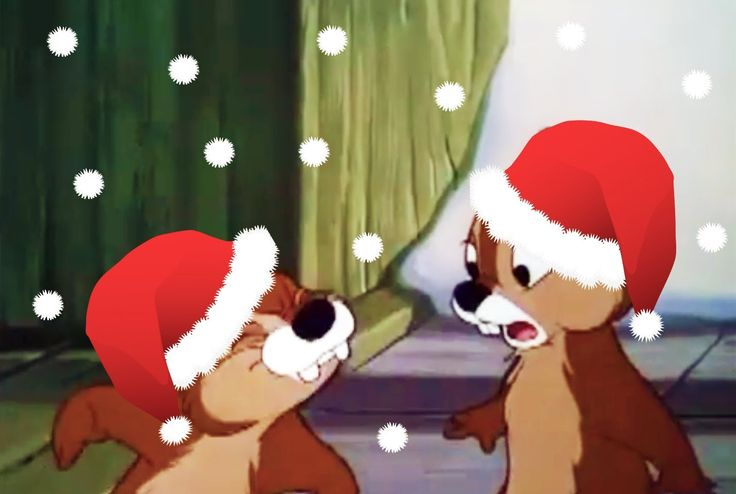 Chip and Dale Merry Christmas Cartoons!! Adorable for all the young children!!