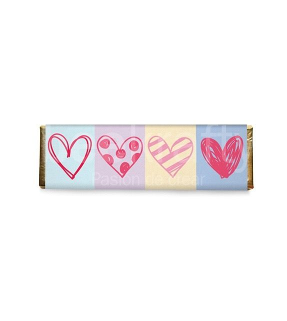 Chocolates medianos personalizados con lo que quieras. Consíguelos en www.beekrafty.com #beekrafty #pasionporcrear #ChocolateMediano