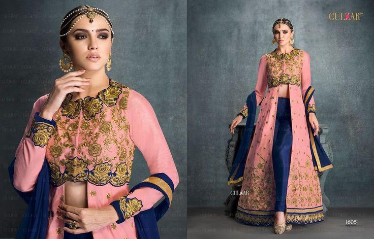 Indian Bollywood Ethnic Designer Anarkali Salwar Kameez Suit & 1605G Traditional