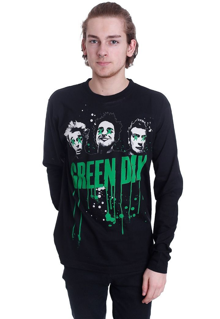 Order Green Day - Drips - Longsleeve by Green Day for £22.99 (9/27/2017) at the Impericon UK  online shop for an affordable price.