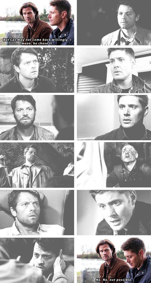 Because Cas always comes back to Dean.  #spn #destiel